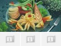 西瓜皮拉花,果盘制作视频,果盘制作图解,果盘的摆法,西瓜果盘切