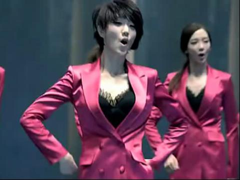韩国美女模特9人组合nine