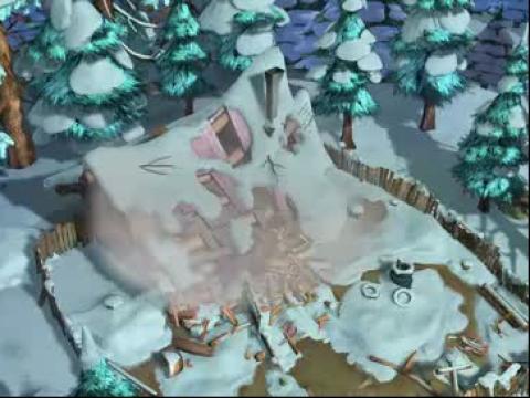 熊出没之过年#; 熊出没之过年之疯狂的伐木机片花