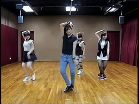 舞蹈 我相信 美女教学版