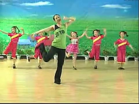 儿童舞蹈-劳动最光荣-(含动作解析)
