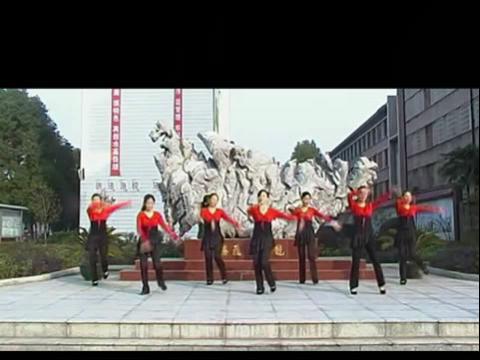 学广场舞曲醉月亮舞蹈视频