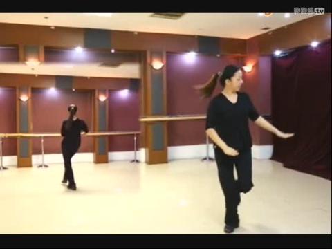 广场舞课堂 印度美女