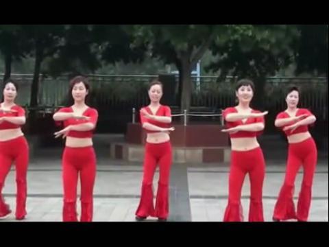 周思萍广场舞-红月亮
