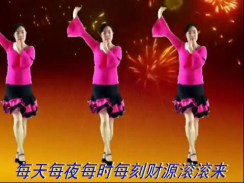 hua钕广场舞 草原的月亮