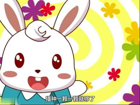 兔子拔萝卜儿童简笔画