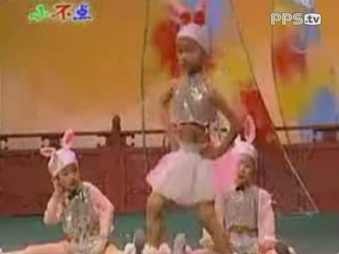 儿童舞蹈 一只小白兔