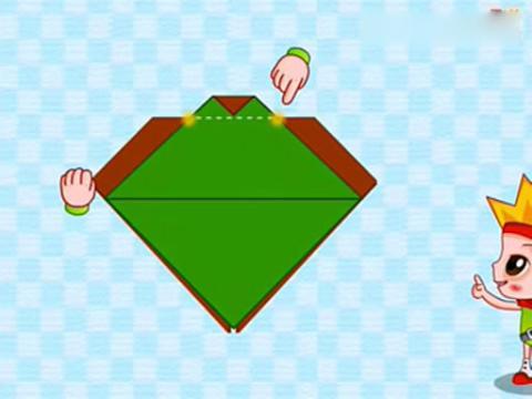 折纸视频大全之手工折七星瓢虫