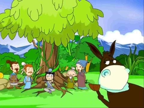 儿童睡前故事大全之驴子吹笛
