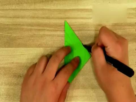 剪纸图案大全-儿童剪纸之叶子-中国剪纸教程