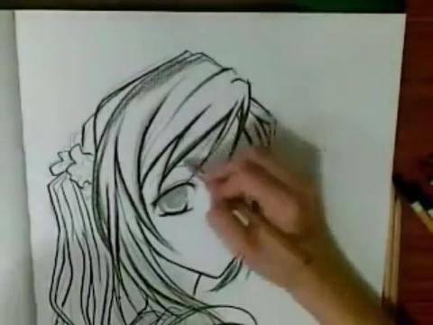 动漫人物画法素描简笔画设计大全11教你画漫画