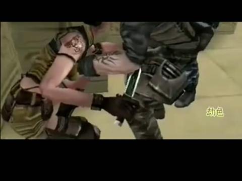 cf搞笑视频短片:《劫色美女》【因为蛋疼】