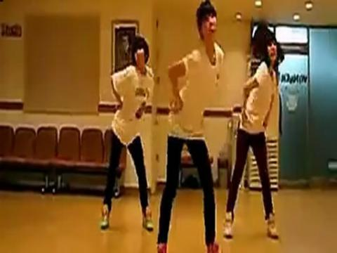 少女时代 gee 舞蹈教学视频