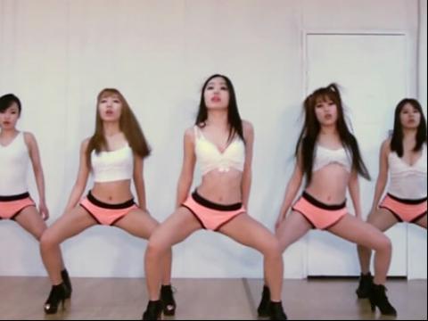 【练习室】韩国美女