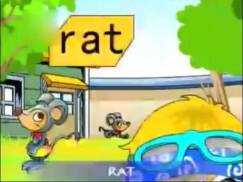 幼儿英语儿歌 公园动物名称