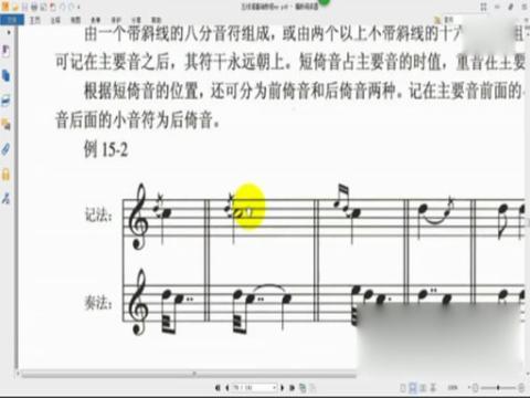 者专用)   电子琴《拔萝卜》入门曲谱   五线谱基础知识教程:21.节奏