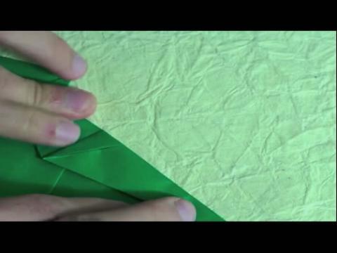 折纸大全图解视频 纸剑龙折法