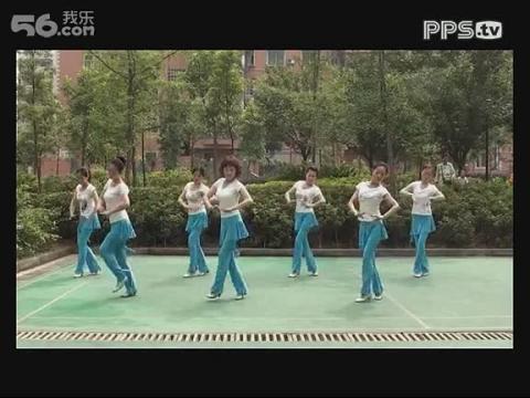 周思萍广场舞 慢四雕花的马鞍