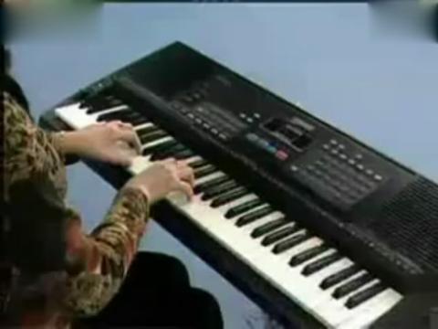 电子琴入门指法教程2键盘的练习
