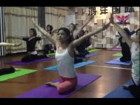 美女柔术瑜伽减肥操