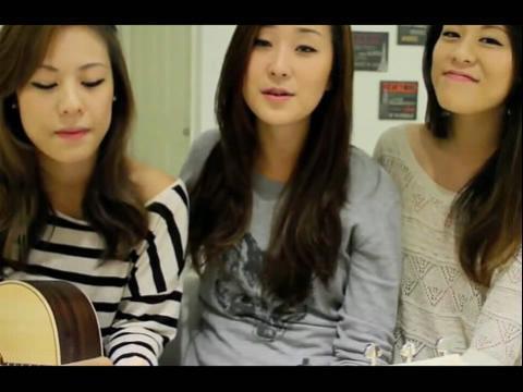 三美女吉他弹唱jet lag