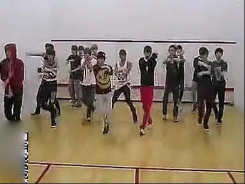 中国饭EXOGROWLHIPHOP版脑子模仿舞蹈v脑子教学带课件白板图片