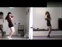 韩国美女家中热舞短裙电臀舞 频道:高清美女性感热舞