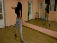 可爱白嫩性感韩国美女热舞