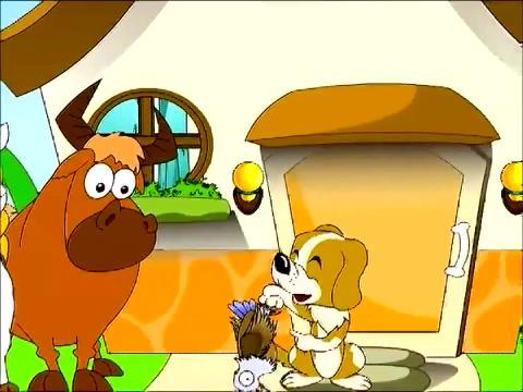儿童故事大全 爱吹牛的小花狗