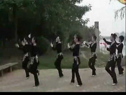 美久广场舞 印度美女