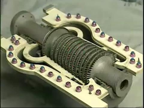 汽轮机工作原理图 - 马桶工作原理图