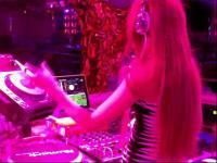 美女dj candice酒吧夜店打碟现场视频