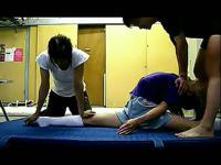 【柔术美女】美女柔术视频比基尼泡妞裸体