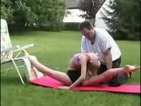 柔术美女视频 软体美女柔术!