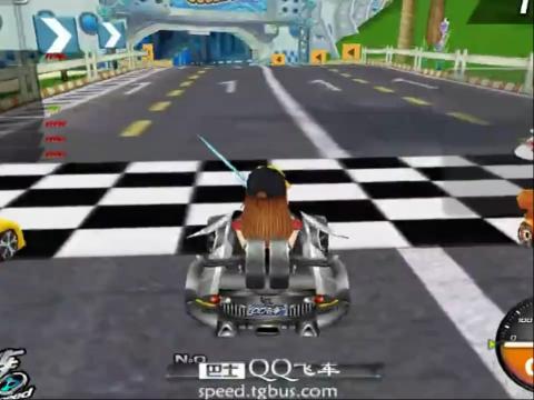 QQ飞车闪耀的皇族第八关教学视频