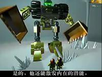 3d版乐高玩具变形金刚!儿童玩具