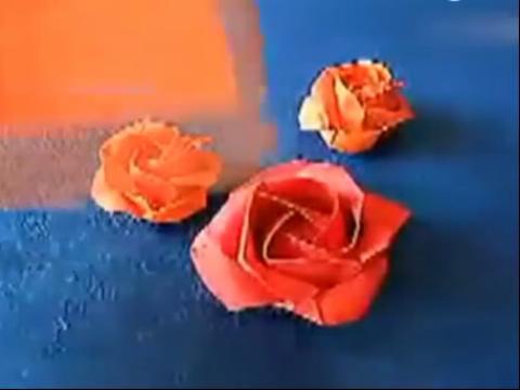 折纸玫瑰 玫瑰花折纸大全