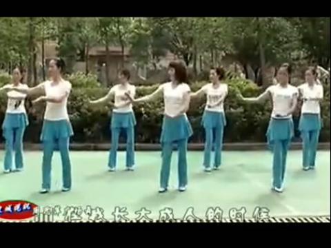 雕花的马鞍广场舞教学