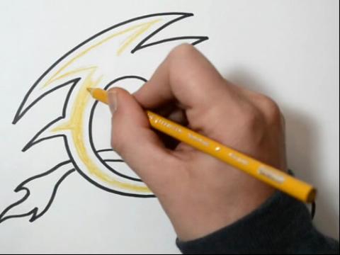 学画纹身大写字母 c how图片