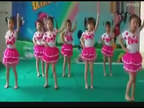 六一儿童节幼儿园中班舞蹈