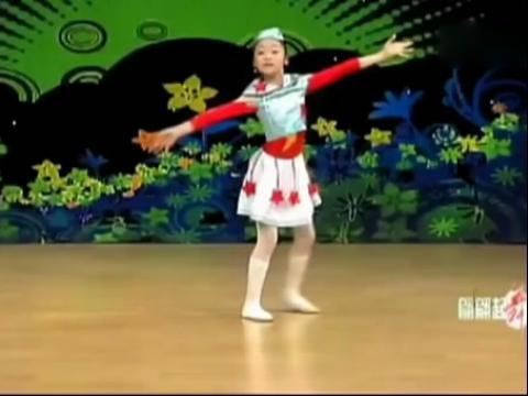 幼儿园小学生舞蹈教学《祖国你好》幼儿舞蹈教学视频