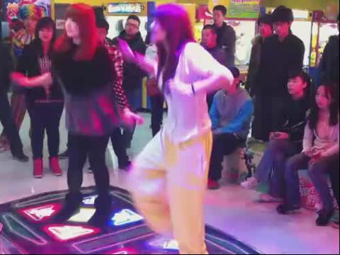 高手美女跳舞 这才叫美女
