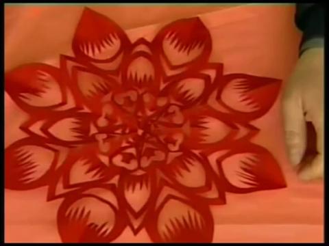 八折剪纸图案及画法_简单八折剪纸画法图片