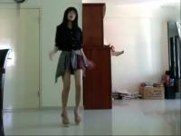 华裔美女性感热舞高清