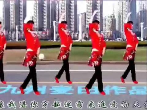 广场舞醉月亮背面分解动作舞蹈视频
