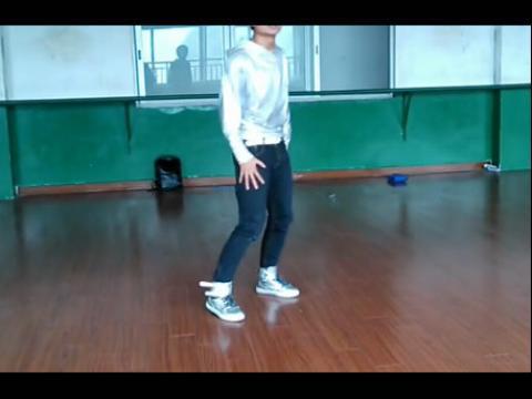 exo狼于美女舞蹈跳 舞蹈