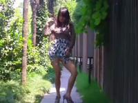 白嫩长腿美女可爱性感热舞