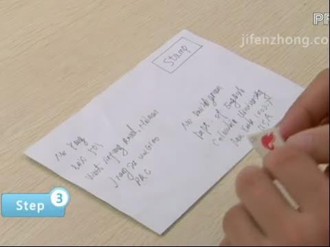信封上的英语是什么意思?图片