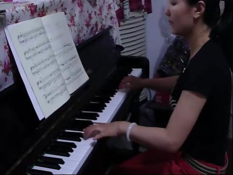 童年的记忆钢琴曲谱展示