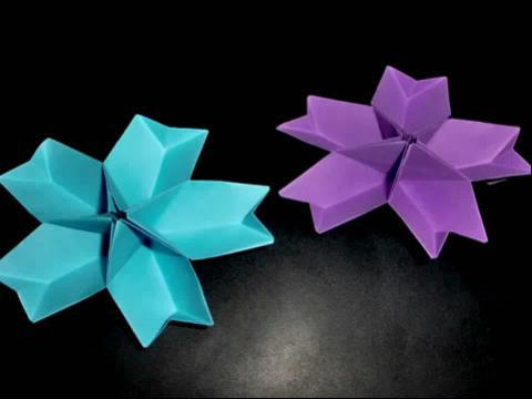 diy手工折纸3d立体桃花盛开教师节送老师礼物-精致的立体纸心详细手图片